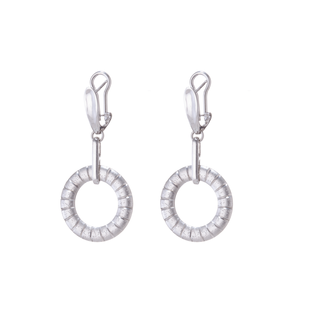 Lunar Saturn Earrings