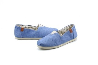 Alpargata Perky Light Chambray