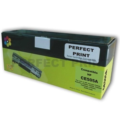 Toner Alternativo Para Hp P2035 2035 2055 05a Ce505a 505a