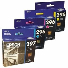 Cartucho Epson 297 296 Pack X 4 Originales Xp231 Xp431