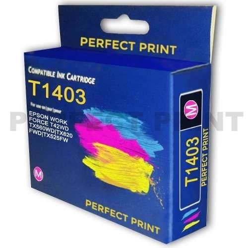 Cartucho Alternativo Para Epson 140 Wf T42w Tx560wd Tx620 - Perfect Print