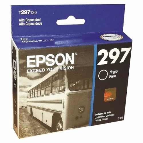 Cartucho Epson 297 296 Pack X 4 Originales Xp231 Xp431 en internet