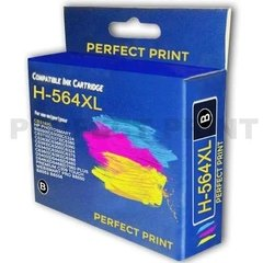 Combo Cartucho Alternativo Hp 564 Xl Negro Color B210a X 4