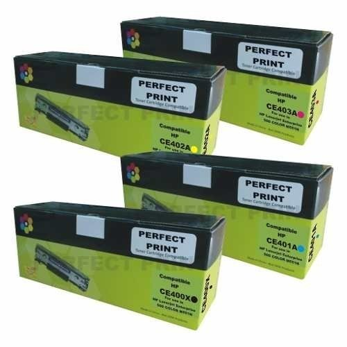 Toner Alternativo Ce 400 401 402 403 / Hp M551 Color 400 504