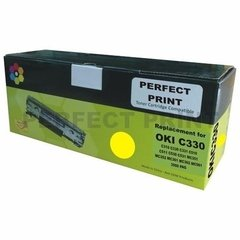 Toner Alternativo Para Oki Color C330 C510 C511 C530 C531