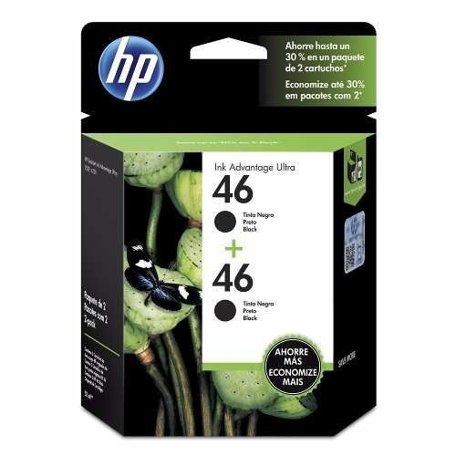Cartucho Hp 46 Negro Original Dual Pack 2529 4729 5738 5739
