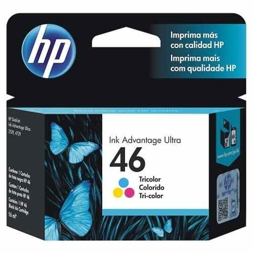 Cartucho Hp 46 Combo Negro Y Color Originales 2529 4729 5739 en internet