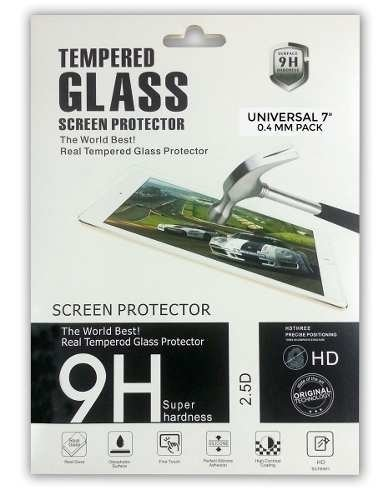 Film Protector Universal Tablet 7.0 Vidrio Anti Huellas Hd