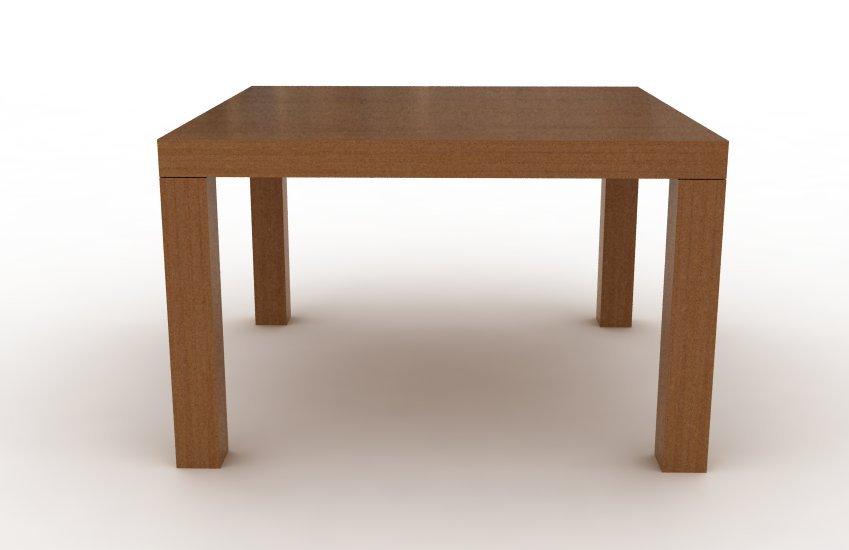 Mesa mies cuadrada madera comprar en modulus for Mesa cuadrada