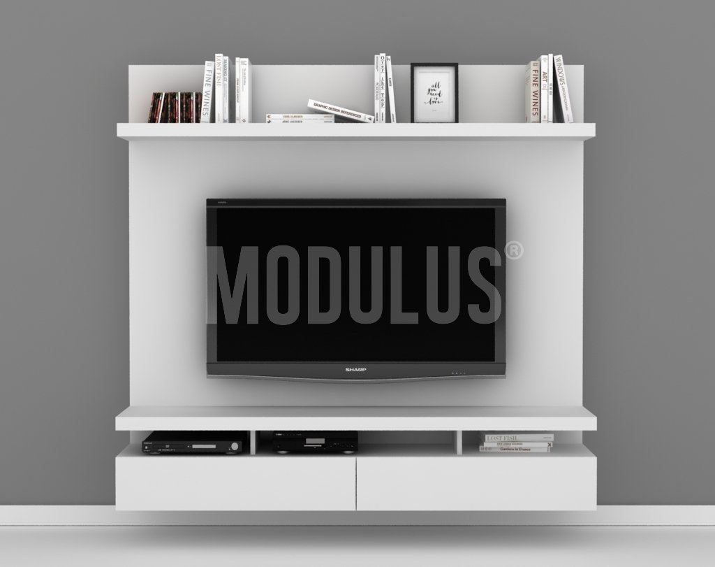 Mueble de Tv Rack Wall Unit Panel para Tv muebles laqueados  #614440 1024x811
