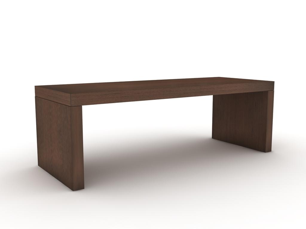 Mesa baja puente madera 50 mm comprar en modulus for Mesas bajas de diseno