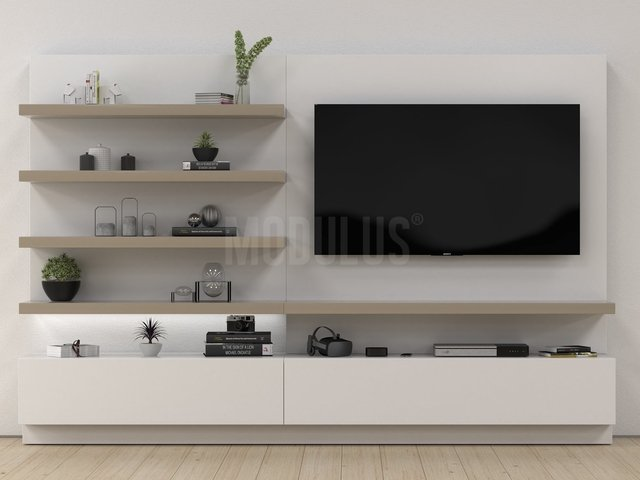Mueble para tv living muebles modernos for Living modernos