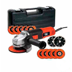 Kit Amoladora Black & Decker 4 1/2