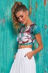 Cropped Ingrid 8216 - De Chelles Acqua