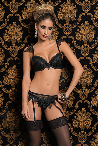 Sutiã Requinte Black 9106 - Belles Lingerie - buy online