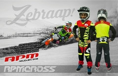 CONJUNTO RPM CROSS ZEBRAAP KID