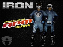 CONJUNTO RPM CROSS - IRON
