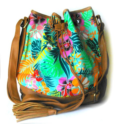 Bolso Marinero Tropical King