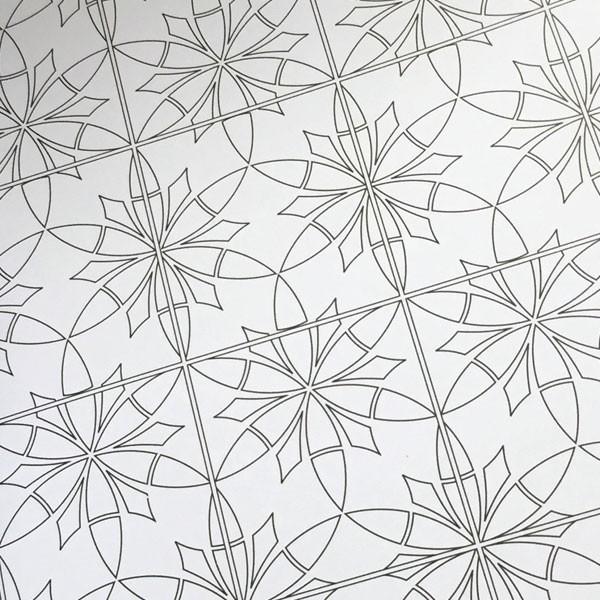 Libro para colorear arterapia mosaicos y azulejos - Azulejos para mosaicos ...