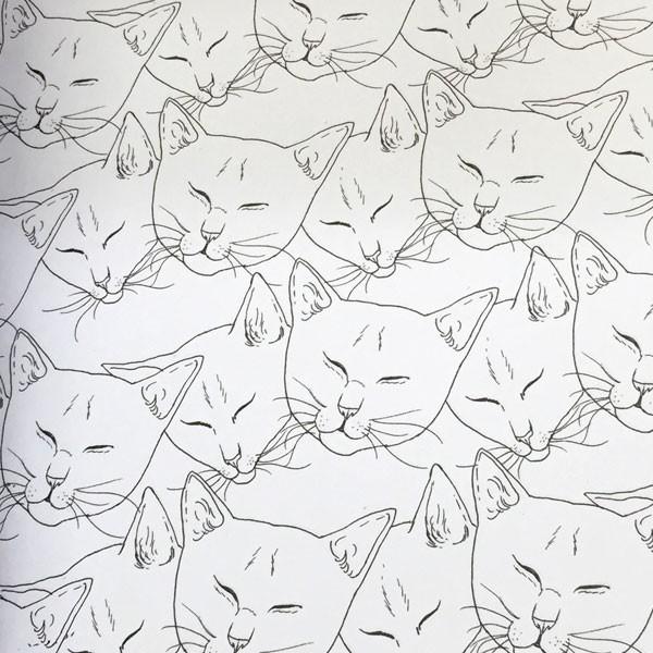 Libro para colorear Arterapia El Gato, maestro Zen