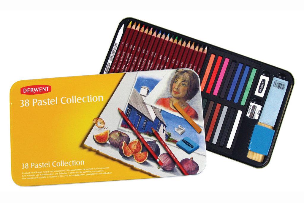 Pastel tiza Derwent Collection x 38 � Libreria Artistica Mucha