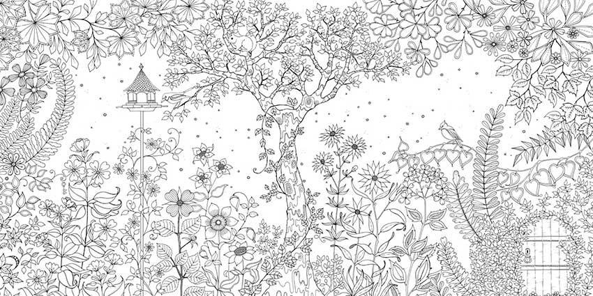 El Jardin Secreto Johanna Brasford Libreria Artistica Mucha