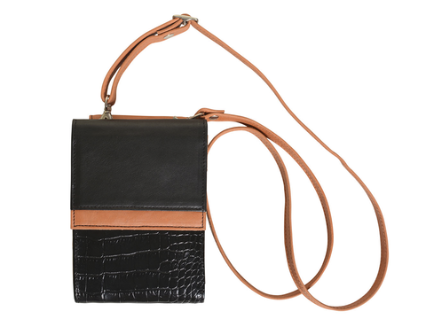 Mini Cartera Book Negro - comprar online