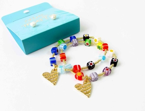 PULSERA MURRINAS CORAZON