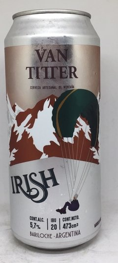 Cerveza Van Titter Irish red Ale