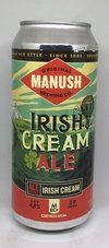 Cerveza Manush Irish Cream Ale