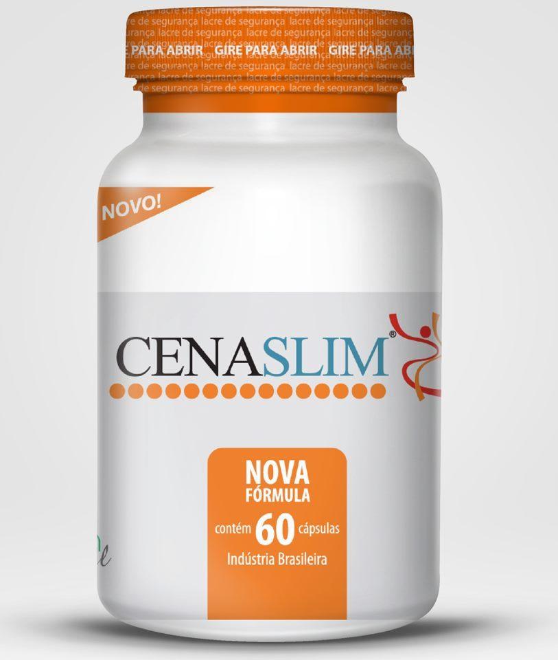 Cenaslim Emagrecedor 240 Caps 500 mg ( 4 Potes )