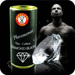 Perfume Masculino Pheromonas Diamond Black Deo Colônia 20ml