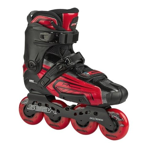 Patins Seba HIGH LIGHT 10 RED - ENCOMENDA