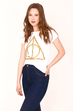 Remera Harry Potter Manga Corta