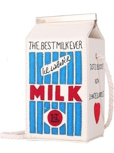 POP MILK SHOULDER BAG - comprar online