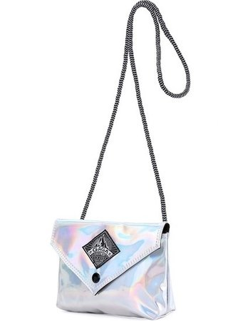 CLUTCH COURINO FLASH BOLSA PEQUENA DE OMBRO BRANCA - mode brand