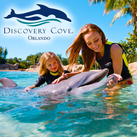 Ingressos Discovery Cove - Day Resort Package (COM SEA WORLD + AQUATICA)