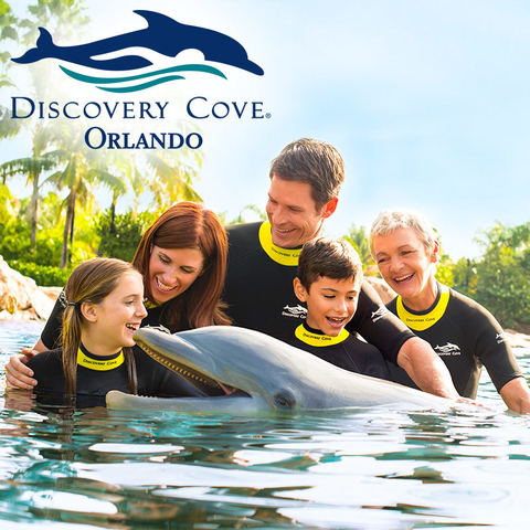 DISCOVERY COVE ULTIMATE 2018 (COM SEA WORLD + AQUATICA + BUSCH GARDENS)