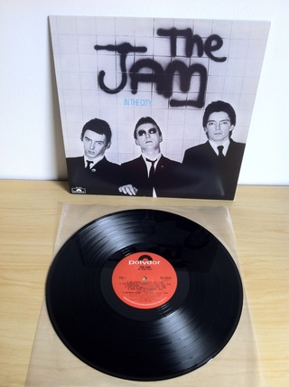 The Jam - In The City [LP] - 180 Selo Fonográfico