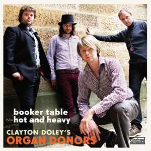 Clayton Doley's Organ Donors - Booker Table [Compacto]