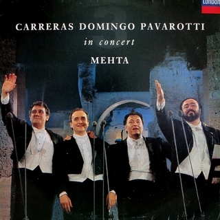 Carreras, Domingo, Pavarotti, Mehta - In Concert [LP]
