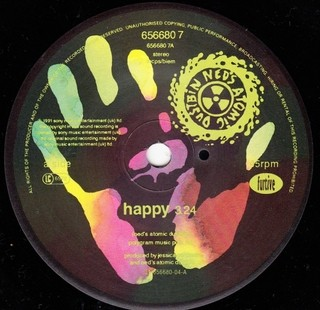 Ned's Atomic Dustbin - Happy [Compacto] - 180 Selo Fonográfico