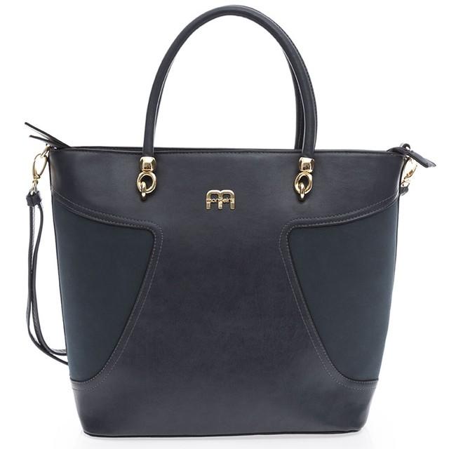 Bolsa De Mao Azul Marinho : Bolsa feminina mondaine de m?o  cor azul marinho