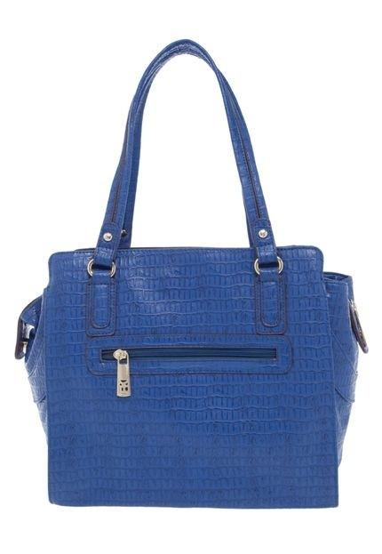 Bolsa Feminina Na Cor Azul : Bolsa fellipe krein av cor azul