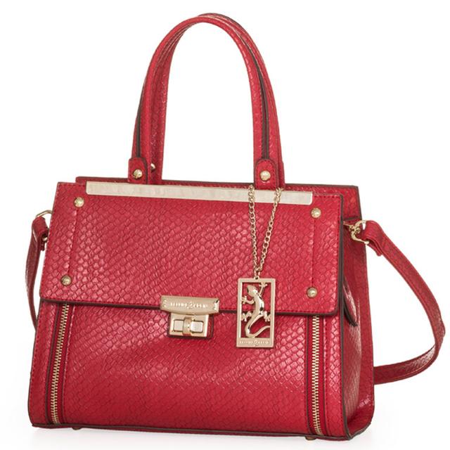 Bolsa Feminina Vermelha : Bolsa feminina fellipe krein bo cor vermelha