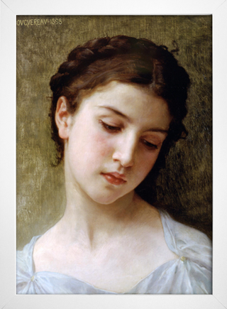 Bouguereau - Head of a Young Girl I - loja online