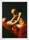 Caravaggio - Saint Jerome in Meditation - loja online