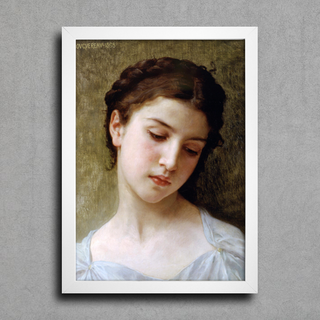 Bouguereau - Head of a Young Girl I - comprar online
