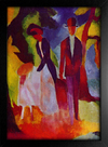 August Macke - People At  The Blue Lake - loja online