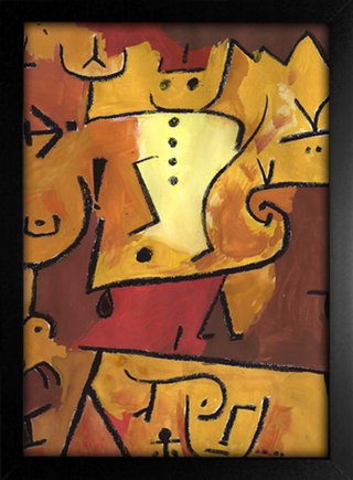 Imagem do Paul Klee - Wedgehead